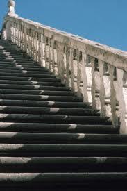 Concrete exterior railing