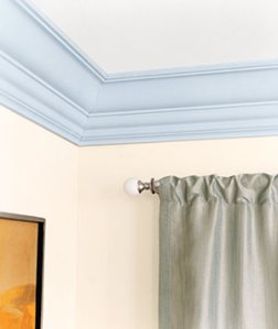 Paint Crown Moulding