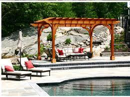 The Poolside Pergola